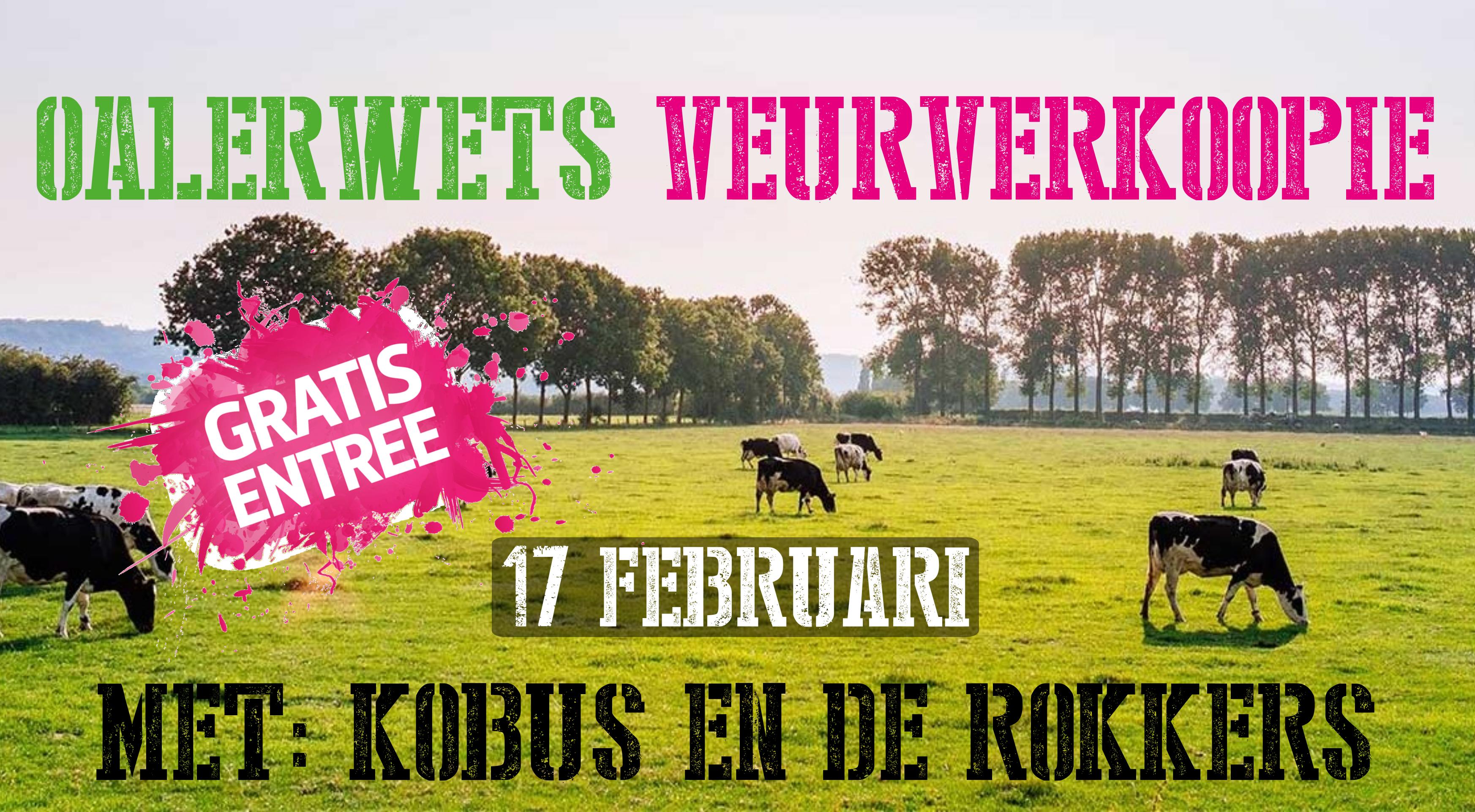 Oalerwets Veurverkoopie… zaterdag is het zover!